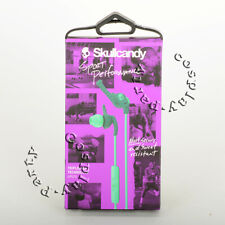 Skullcandy XTplyo Active Sport Clip In-Ear Buds Headphone w/Mic Teal/Green New