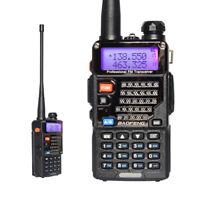BaoFeng UV-5RE Plus 2-way Radio Walkie Talkie 128CH Dual band UHF+VHF FM Ham