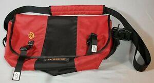 NWOT - Timbuk2 Custom Classic Messenger Bag - Red / Black - Size M