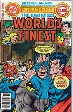 World's Finest Comics # 253 Nov 1978 DC Batman Superman Shazam Creeper Green Arr