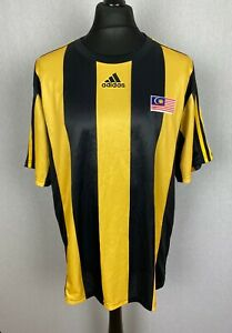 Adidas Malaysia National Team Football Shirt Men's Size XXL Soccer Jersey Rare
