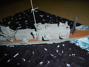 """Schwerer Raketenkreuzer """"Prinz Eugen"""" 1948    1/700 Bird Models Umbausatz /conv."""