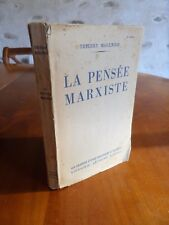 Thierry Maulnier   La pensée Marxiste 1948 Editions Arthème Fayard