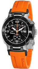 T048.217.27.057.00 | BRAND NEW TISSOT T-RACE TOUCH WOMEN'S WATCH W/ ORANGE STRAP