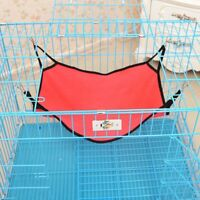 Pet Rat Rabbit /Ferret Chinchilla/Cat Dog Animal Hammock Hanging Bed Cover Mat z