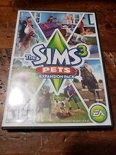 The Sims 3 Pets PC Game Complete Windows Mac 2011 Expansion