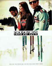 Publicité Advertising 079  2008  les  vetements ski Napapijri