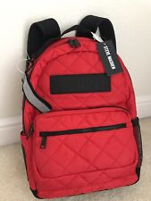 NWT Steve Madden Austin Quilted Backpack color Red $55