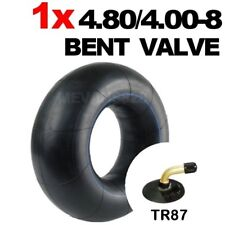4.80/4.00-8 Inner Tube With BENT VALVE Builders Wheelbarrow Garden Barrow 480 8