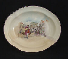Royal Doulton Seriesware Historic England Dr Johnson at Temple Bar Fruit Dish