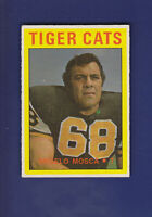 Angelo Mosca 1972 O-PEE-CHEE CFL Football #7 (EXMT) Hamilton Tiger-Cats