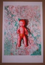On the Mend Steve Walters Art Print Signed Numbered 2009 Powerful Humans Poster