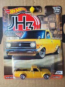 Hotwheels 2020 JAPAN HISTORICS 3 - DATSUN SUNNY PICK UP  [YELLOW] NEAR MINT