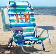 2019 Tommy Bahama Backpack Cooler Chair Storage Pockets Beach Pool Camping Ocean