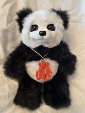 "1999 Robert Raikes Original - 13"" panda bear FORTUNE COOKIE - Limited 77/1000"