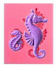 Seahorse 2 Sizes Silicone Mold for Fondant GP Chocolate Crafts