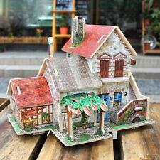 Diy Resort Villa Miniatures - 3D Dollhouse With Furniture And Accessories