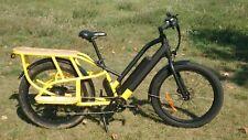 Cargo Lastenrad E-Bike Zweisitzer Kindertaxi Pedelec 250,750,1000W 45km/h mögl.