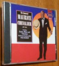 The Immortal Maurice Chevalier; Paul Mauriat Conducts - New CD with 9 Tracks