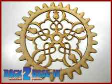 Steampunk Cogs Gears Wheel Laser Cut MDF Decorative Accessory 200mm x 3mm COG12
