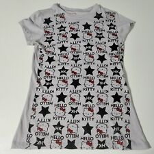 2007 MIGHTY FINE Sanrio Hello Kitty Graphic t-shirt top Juniors LARGE Rock Music