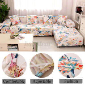 1/2/3/4 Sofa Covers Couch Slipcover Stretch Elastic Fabric Settee Protector