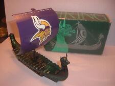 Vintage Avon Wild Country After Shave Empty Custom Minnesota Vikings Ship & Box