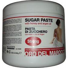 Pasta di Zucchero Depilazione araba 500gr con Olio di ARGAN e MIELE-Arcocere