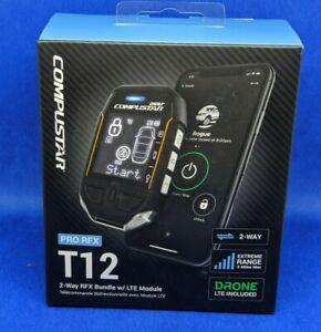 Compustar RFX-P2WT12-SS + alarm/remote start + blade AL bypass module