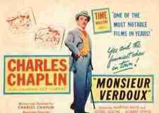 Monsieur Verdoux 07 comprimidos A3 cartel impresión
