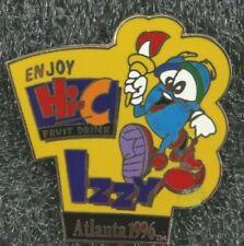 ATLANTA 1996 OLYMPIC MASCOT PIN IZZY Hi-C Fruit Drink