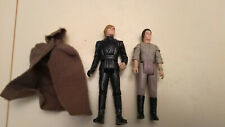 2 Star Wars classic vintage action figures Jedi Luke Skywalker Endor Leia