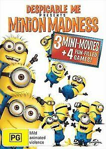 Despicable Me Presents Minion Madness (DVD, 2013) NEW Region 4