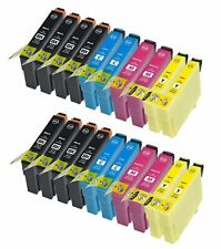 Kit 20 Cartucce PER EPSON EXPRESSION HOME XP102 202 205 212 215 225 302 305