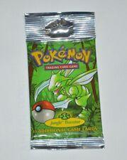 1999 Pokémon TCG Jungle Booster LONG PACK Ultra Rare *Fresh from box Scyther Art