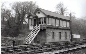Rail Photo GWR TVR Radyr Quarry station signal box Glamorgan llandaf taffs well