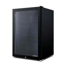 Devanti Bar Fridge Glass Door Mini Freezer Fridges Countertop 98l Beverage Home