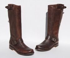 Frye Veronica Slouch Tall Brown Leather Boots Size 7.5  B