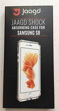Samsung Galaxy S8 Case, Hybrid Shock Modern Slim Non-slip Grip Black Phone Case