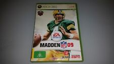XBOX 360 MADDEN NFL '09 GAME IN VERY GOOD CONDITION