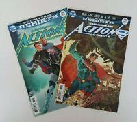 DC Universe Rebirth Superman Action Comics #984 and #985 (Oct.2017) VF/NM