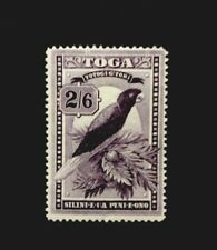 Tonga SG52 Deep Purple 2/6 Mounted Mint