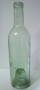 Wine Bottle with Deep Punt, Perhaps 1890s - 25cm Tall - Vintage Bottle #49