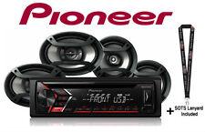 """Pioneer DEH-S1000UB CD Receiver USB Aux  w/ 6x9"""" TS-695P 6.5"""" TS-165P Speakers"""