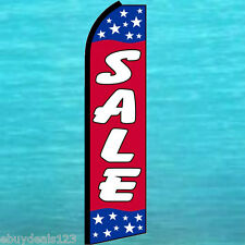Sale Patriotic Flutter Feather Flag Swooper Tall Advertising Sign Banner 25-1993