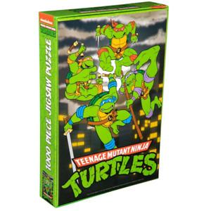 Ikon Teenage Mutant Ninja Turtles Night Turtles 1000 Piece Jigsaw Puzzle NEW