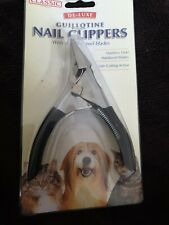 dog nail clippers guillotine