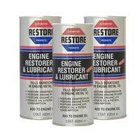 Mercedes Benz MB engine problems try AMETECH RESTORE OIL -3 400ml CANS FOR £66