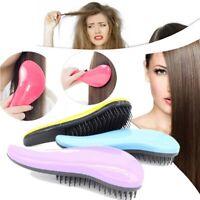 Magic Detangle Hair Beard Brush Styling Knot Detangler Detangling Comb Wet Dry