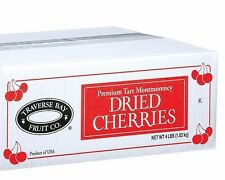 Premium Dried Tart Cherries Montmorency 100% Grade A Fruit Snacks Mix 4 Lb. Box